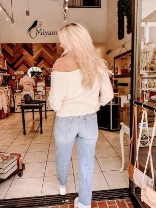 Joe's Boyfriend Jeans- Miyamo Boutique